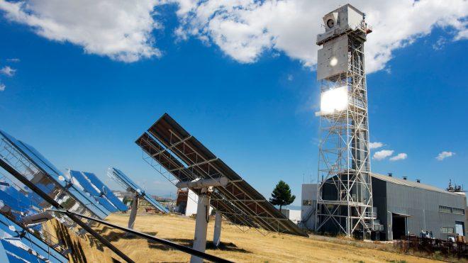 Reactor solar más grande del mundo dividirá H2O en hidrógeno