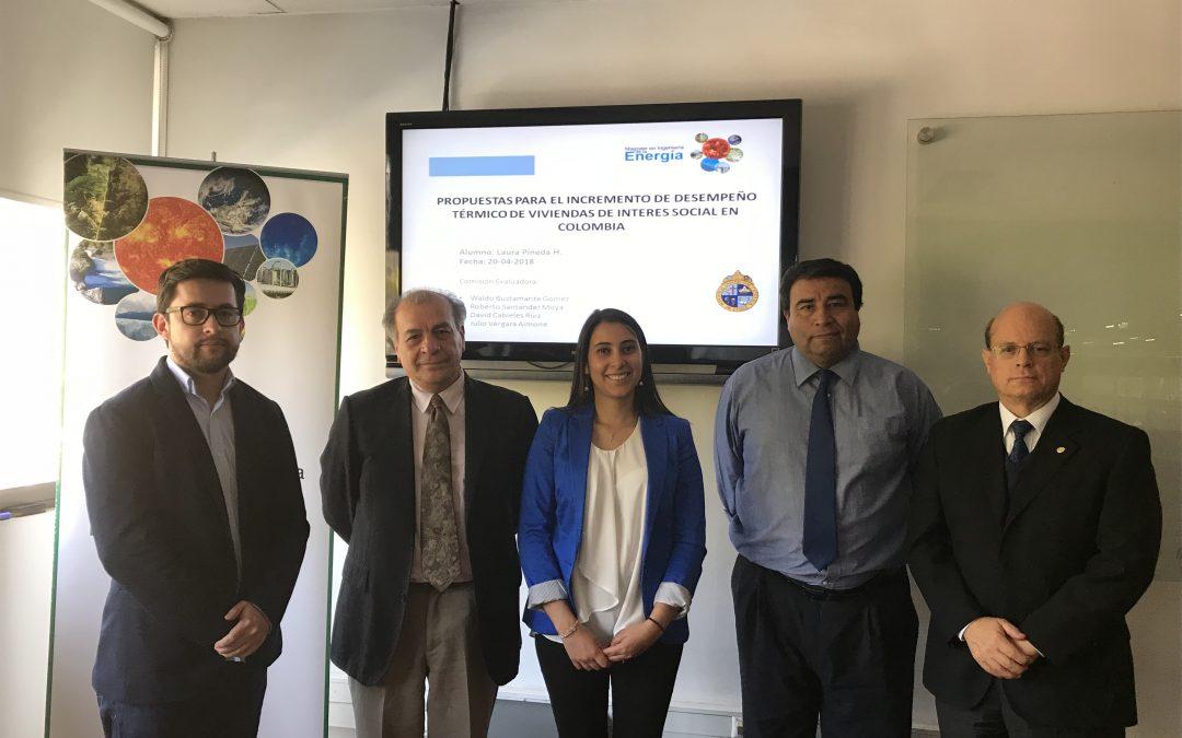 LAURA PINEDA HERNÁNDEZ se convierte en una nueva graduada del Magíster en Ingeniería de la Energía de la Pontificia Universidad Católica de Chile.