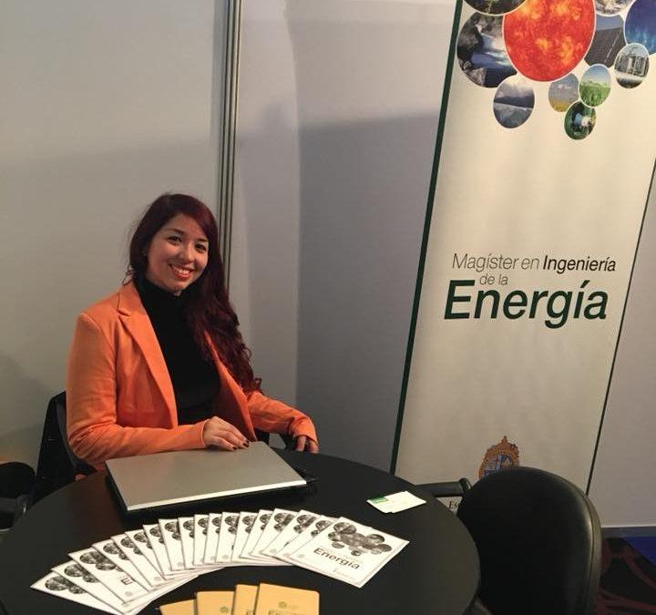 El Magíster en Ingeniería de la Energía, presente en la IX Versión de la Expo Apemec 2018.