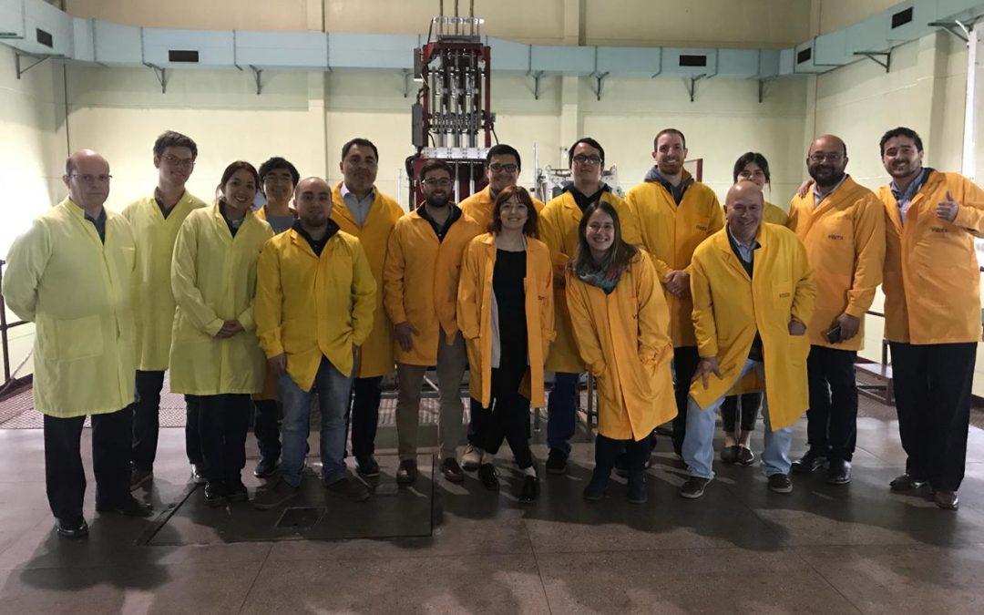 Alumnos del Magíster en Ingeniería de la Energía, visitan la Comisión Chilena de Energía Nuclear.