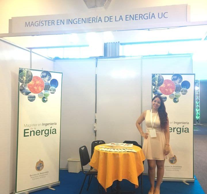Magíster en Ingeniería de la Energía presente en Segunda Versión de Feria ExpoERNC 2018.