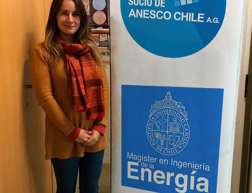 Coordinadora Académica del Magíster en Ingeniería de la Energía será representante de Anesco Chile en Cosoc de la CNE